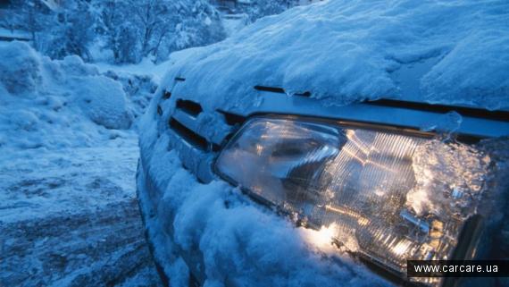 Защита кузова автомобиля в щимний пеиод.
