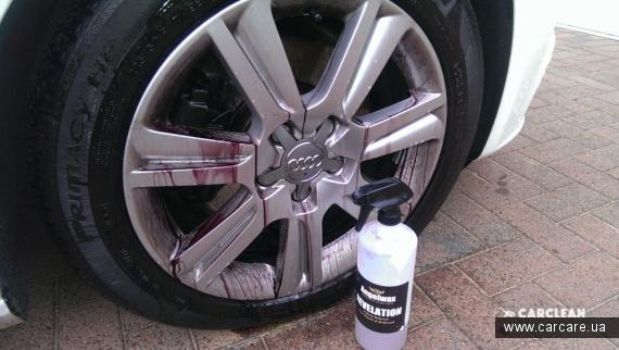 Очистка автомобильных дисков