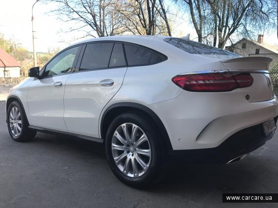 Nanolex Si3HD - Mercedes GLE Carclean Ukraine