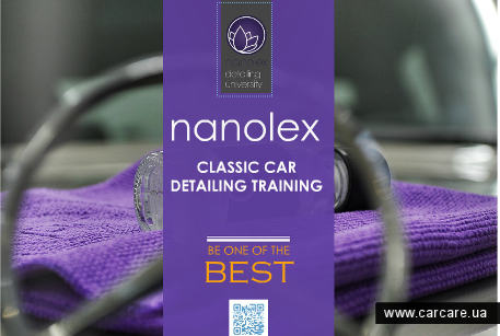 Nanolex Classic Car Detailing Training